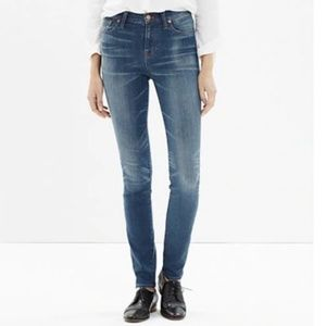 Madewell High Rise Alley Straight Jeans size 25x31